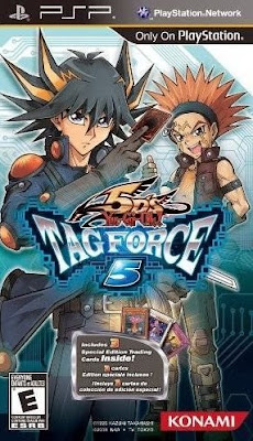YU GI OH 5ds Tag Force 5 PPSSPP CSO ISO Highly Compressed