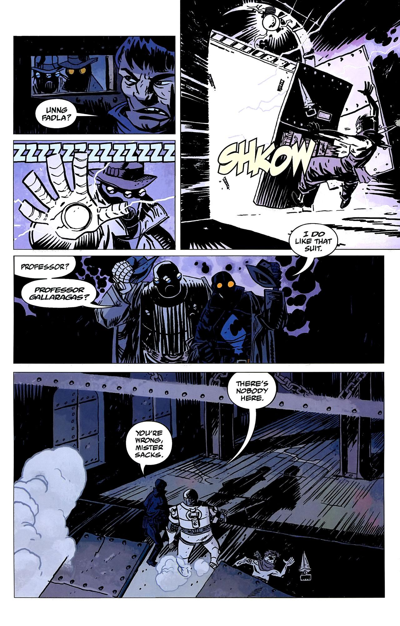 Read online Lobster Johnson: The Iron Prometheus comic -  Issue #2 - 4