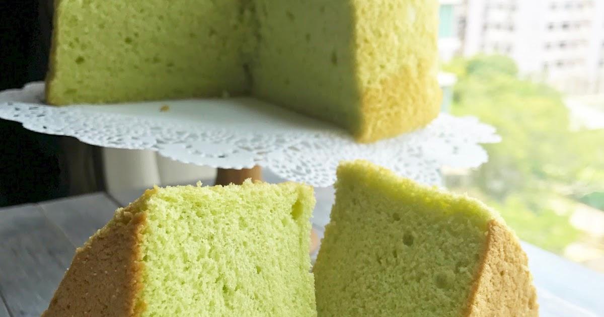 Bake For Happy Kid Pandan Chiffon Cake