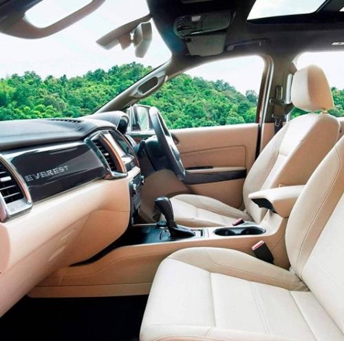 Interior design Car Ford Everest