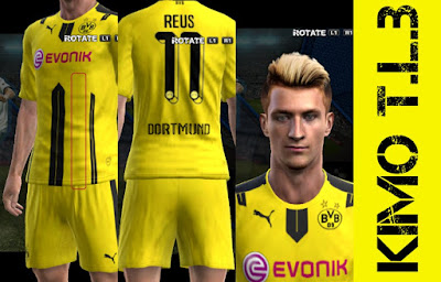 PES 2013 Borussia Dortmund and Schalke Kits 2017 By KIMO T.L.B 19