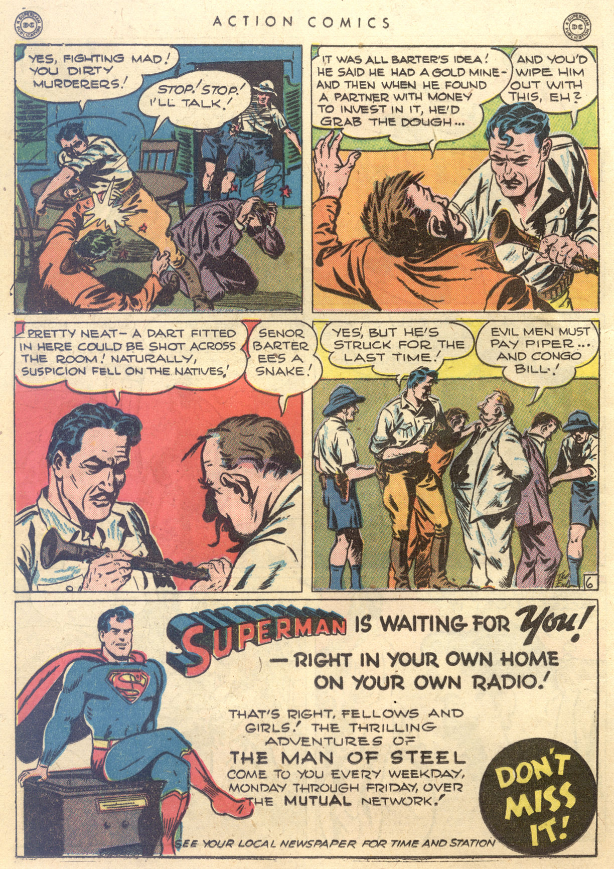 Read online Action Comics (1938) comic -  Issue #88 - 28