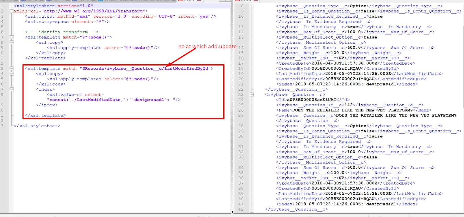 SAP PI Reference: add or modify at specific xpath with disturbing ...