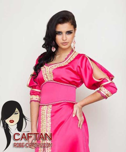 Caftan / caftan marocain de belle tendance