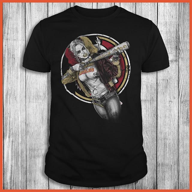 Florida State Seminoles Harley Quinn T-Shirt