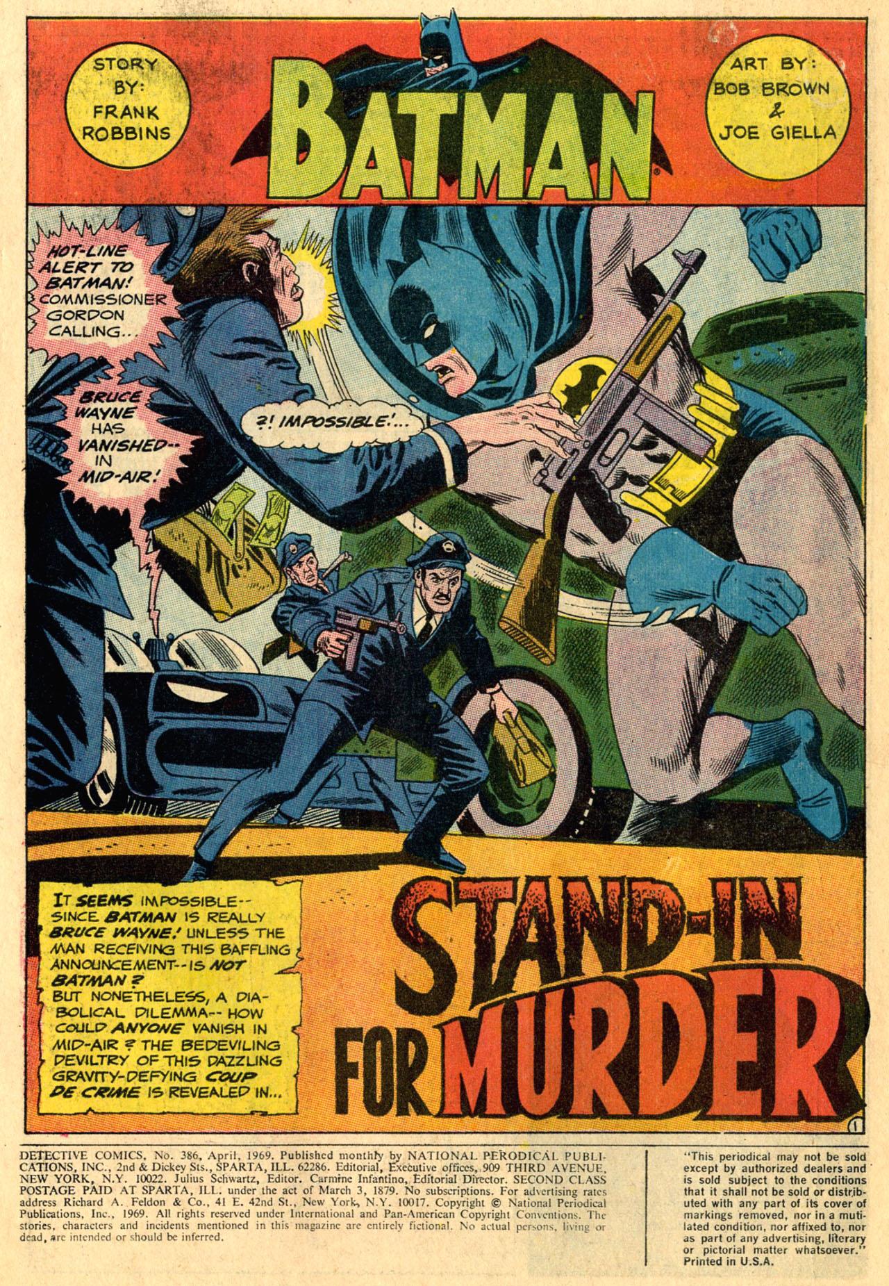 Detective Comics (1937) 386 Page 2