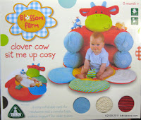 ELC Blossom Farm Clover Cow Sit Me Up Cosy