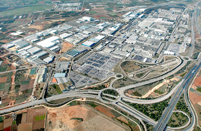Vista-áerea-Factoría-Ford-Almussafes-Parque-Industrial-Juan-Carlos-I