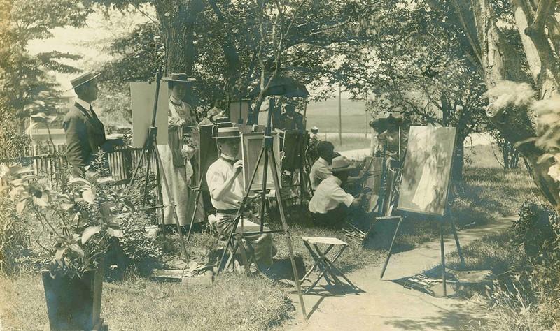 Lyme Art Colony Impresionismo americano