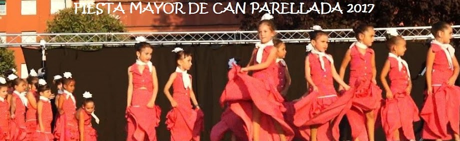 FIESTA MAYOR DE CAN PARELLADA 2017