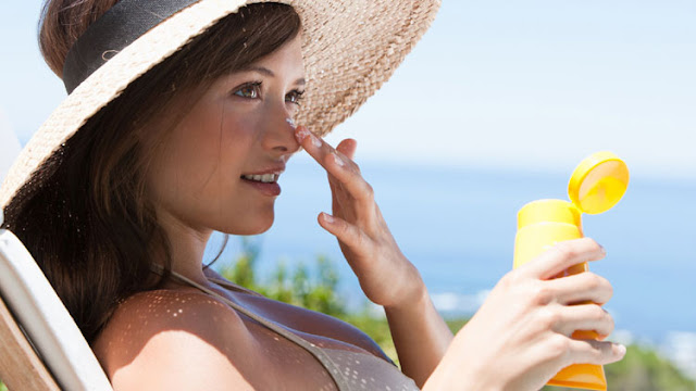 Sunscreen With SPF To Protect From UV Rays