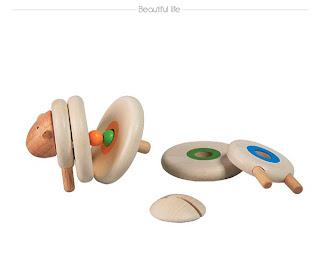 Juguete de madera muy innovador