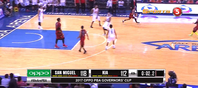 San Miguel def. KIA, 118-112 (REPLAY VIDEO) September 16