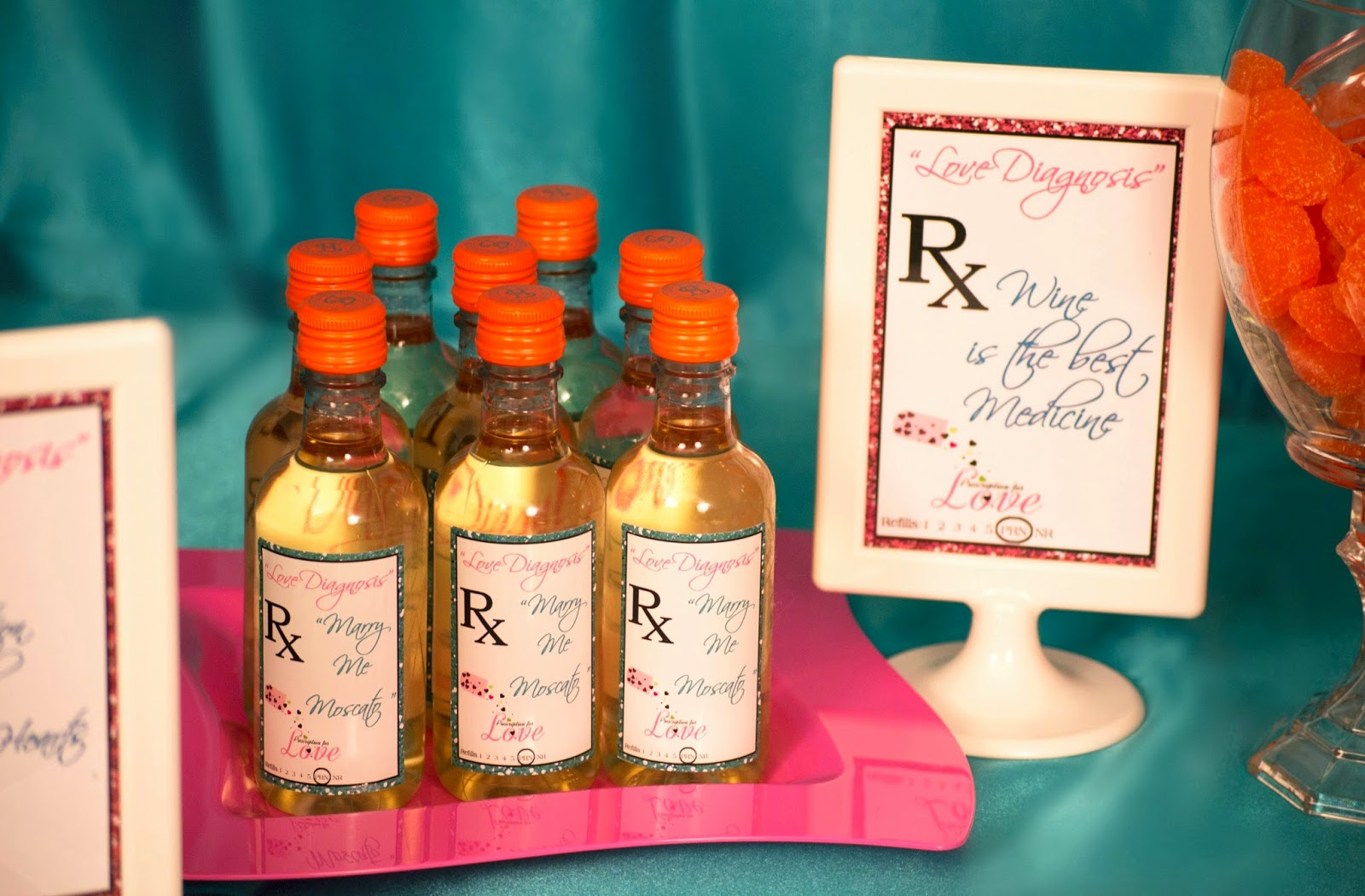 Prescription for Love Bridal Shower  Lavish Events and Prints by Talia