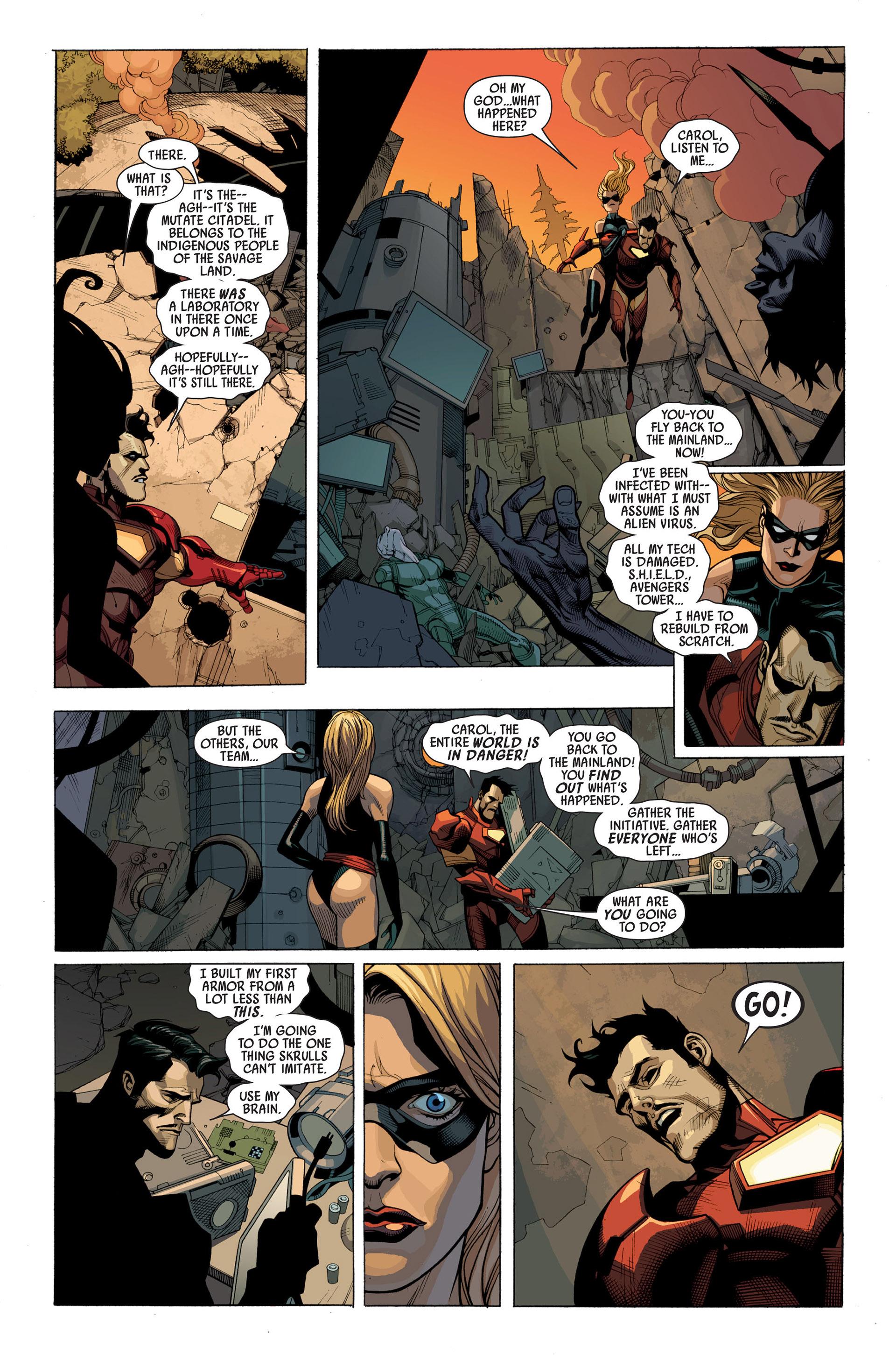 Read online Secret Invasion comic -  Issue #2 - 11