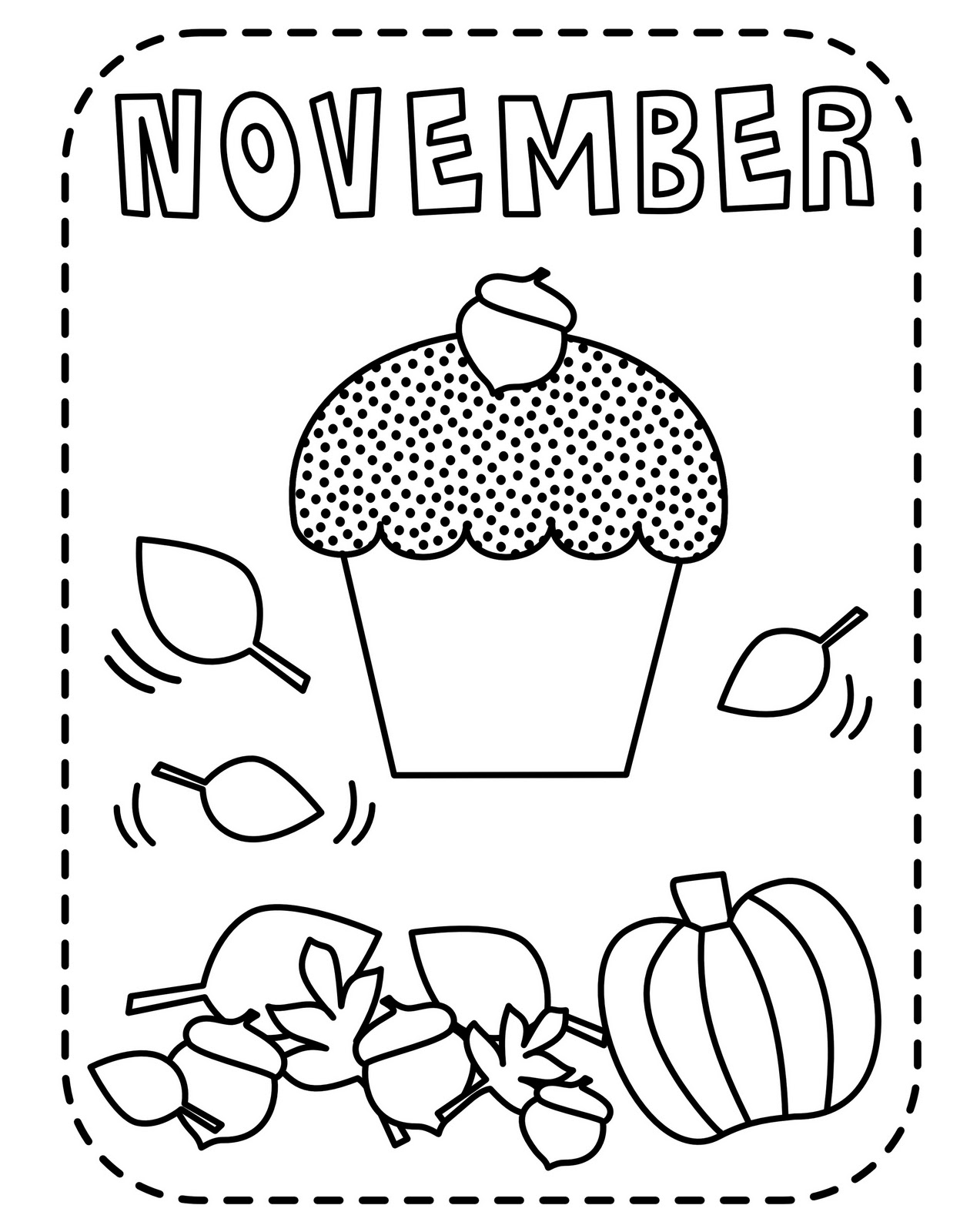 Free Coloring Pages April