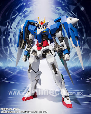 Figura 00 Raiser + GN Sword III METAL ROBOT SPIRITS SIDE MS Mobile Suit Gundam 00