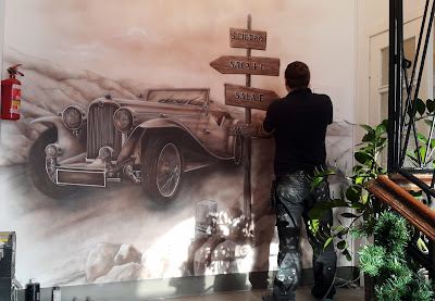 Malarstwo ścienne, malowanie artystyczne ścian, obrazy malowane na ścianach, murale 3d