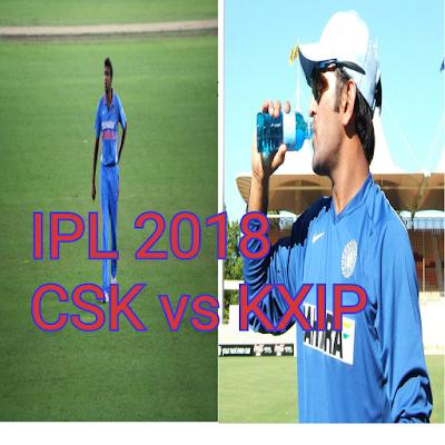 CSK vs KXIP