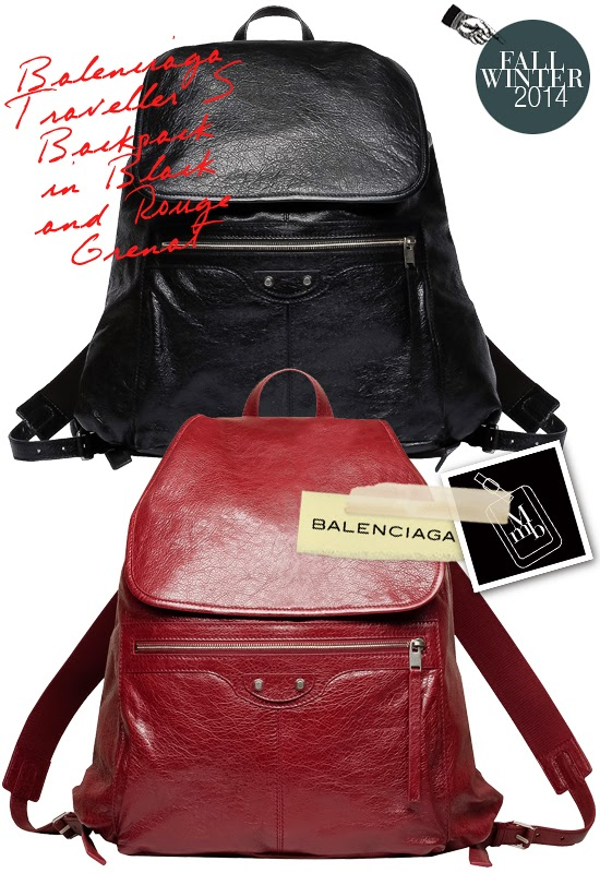 852e6f2e917c Below  The large Traveller Backpack features a zip pocket at the base for  extra storage... Balenciaga Mens Traveller Backpack