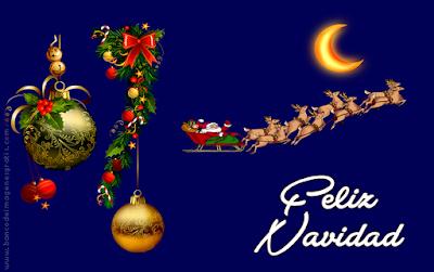 Portada de Navidad con mensaje