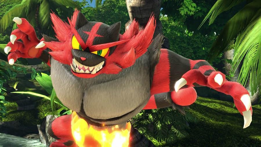 incineroar super smash bros ultimate direct pokémon