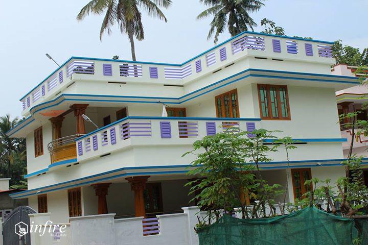2000 sqft 6 Cent House For Sale at Valathungal, Kollam, Kerala