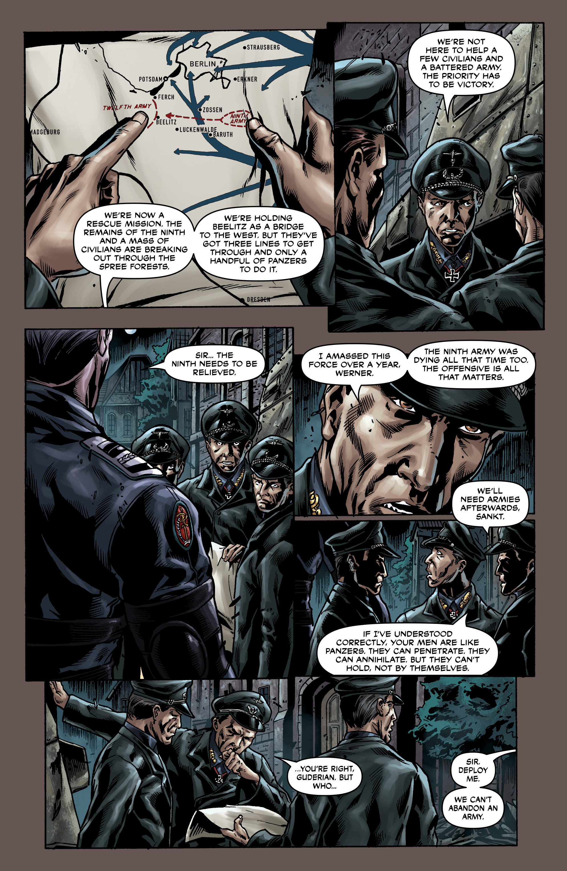 Read online Uber comic -  Issue #0 - 26