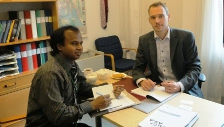 Meeting with Embassey of Sweeden, Bangladesh