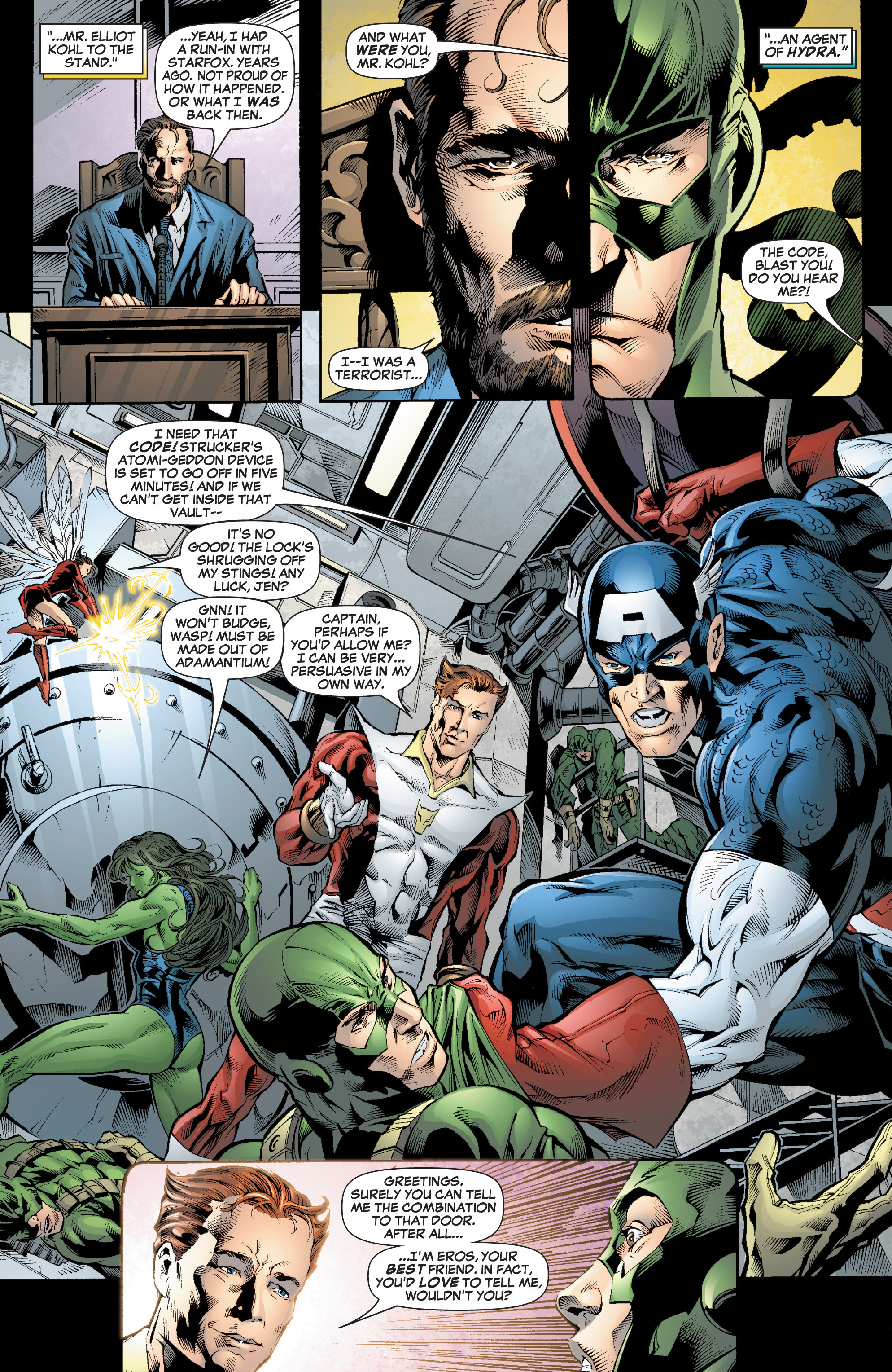 Read online She-Hulk (2005) comic -  Issue #7 - 8