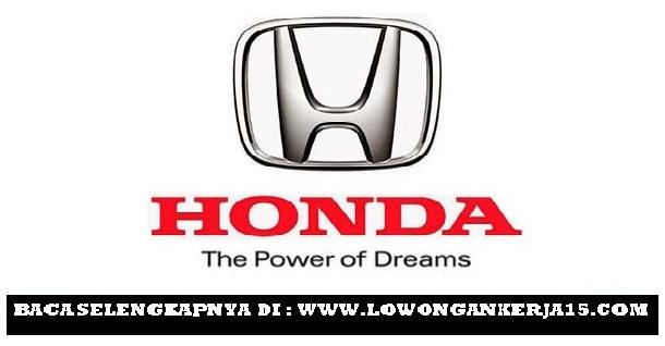 Lowongan kerja Honda