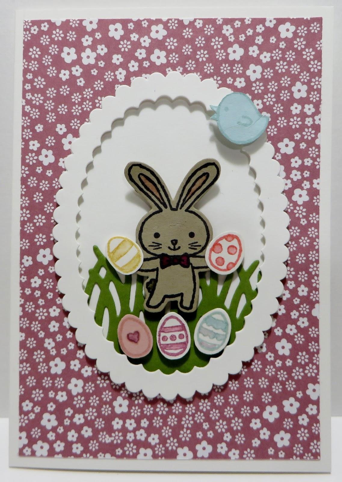 Lynn's Locker: Stampin' Up Basket Bunch, Easter Message ...