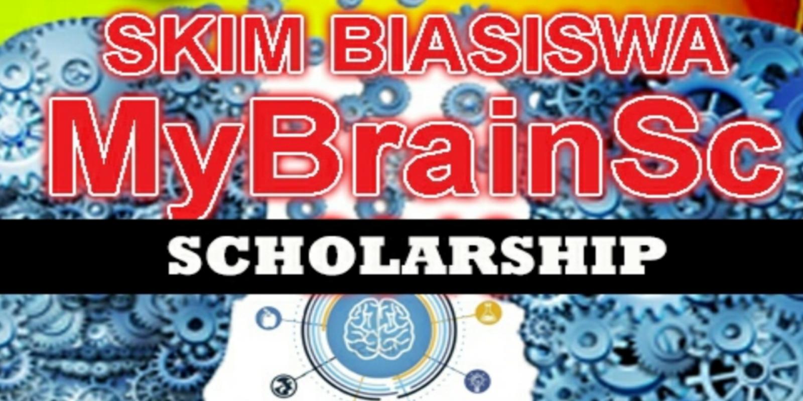 Permohonan Biasiswa MyBrainSc KPT 2019 Online