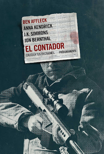 The Accountant (BRRip 1080p Dual Latino / Ingles) (2016)