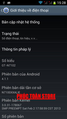 Stock rom Note A9550 mt6575 alt