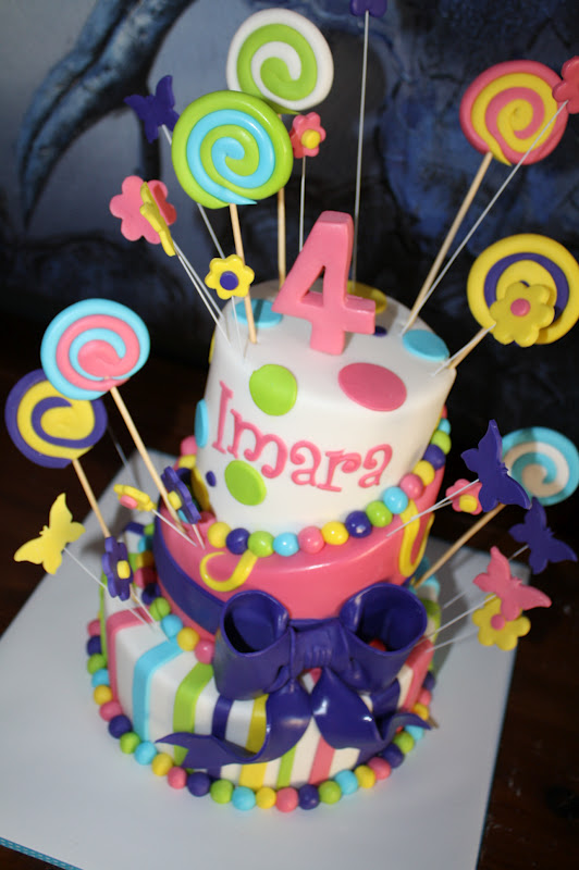 Imara S Lollypops Cake Posted By Sandy