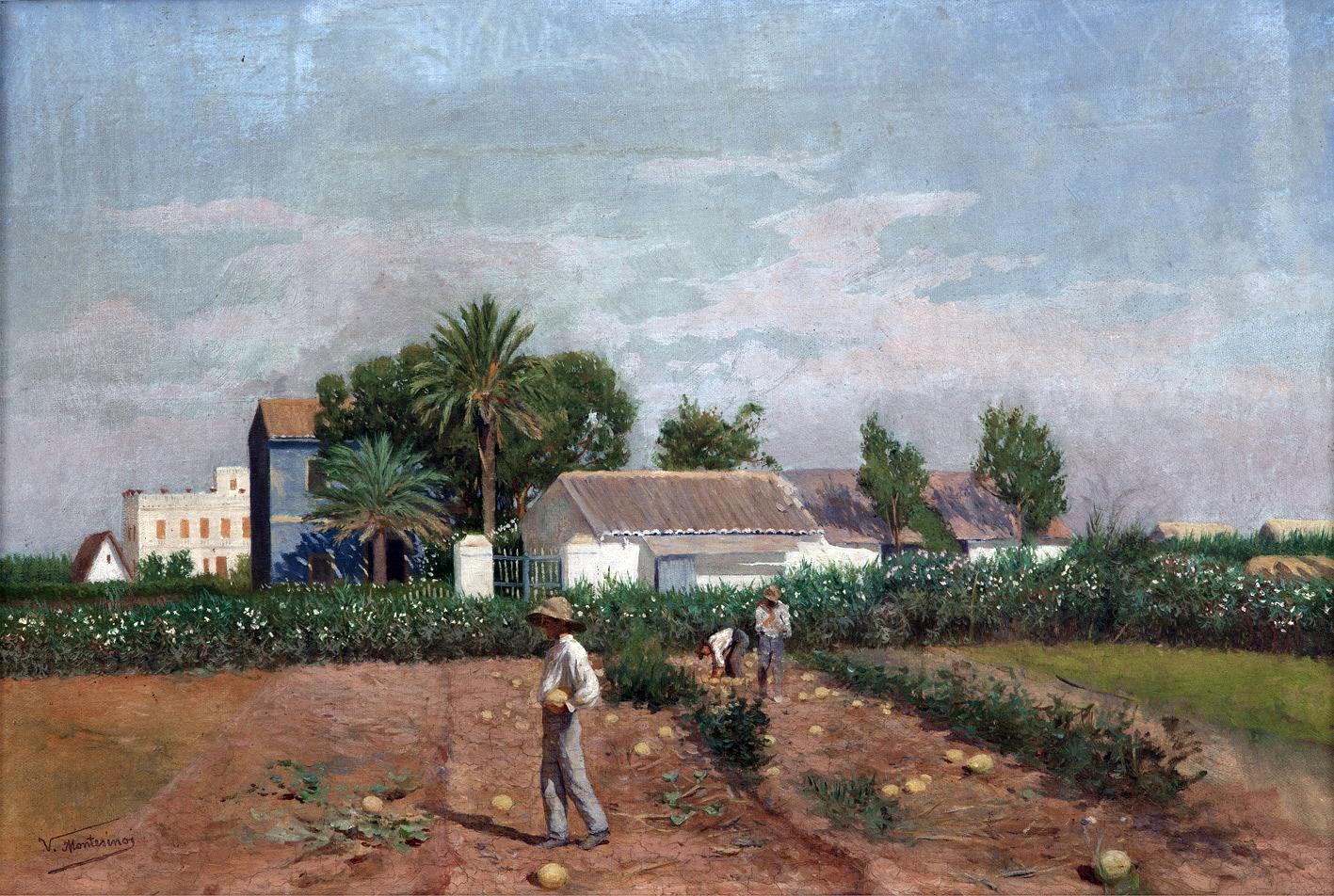 PAISAJISTAS ESPAÑOLES DEL SIGLO XIX Y XX: Vicente Montesinos Cervero