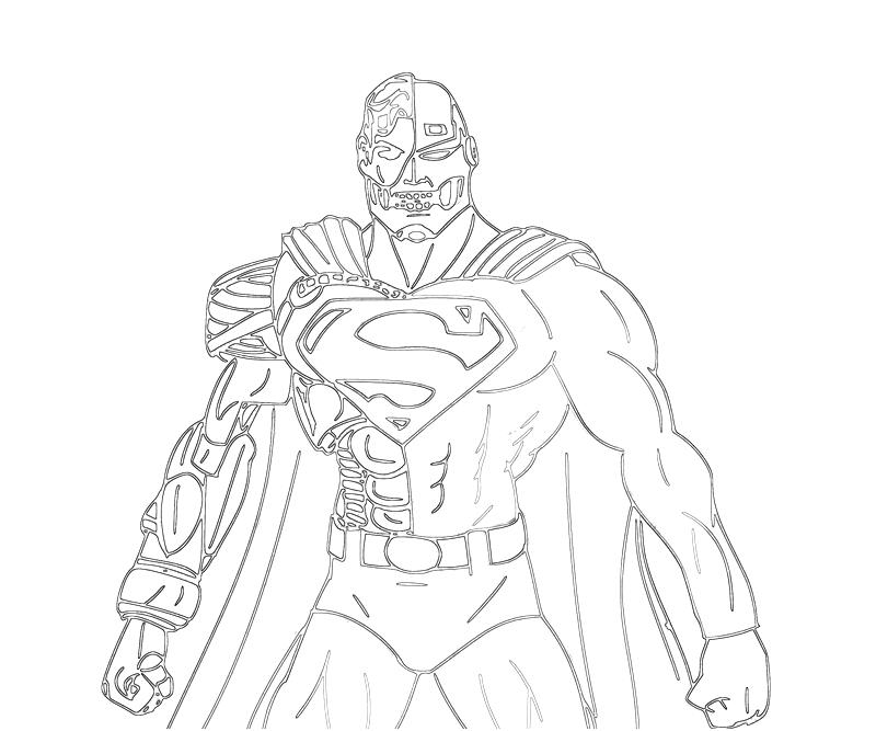 This is a photo of Superman Printable Coloring Pages intended for handsome boy