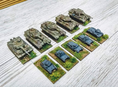 Painted WWII German - Vehicles from Pendraken Miniatures