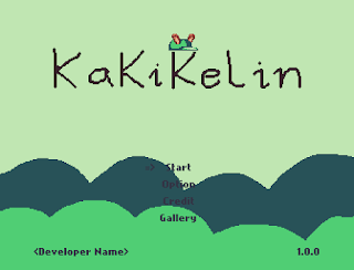 Title Screen Mockup