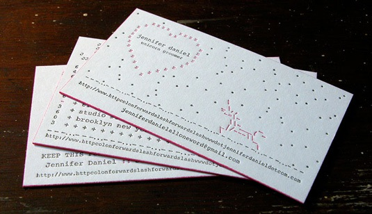 Designs of Letterpress Printing Business Cards love