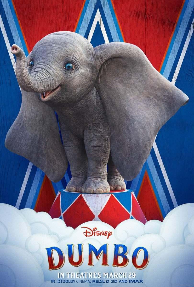 """O Clássico filme da Disney """"Dumbo"""" estréia sua Live-action depois de 78 anos, em 28 de março!"""