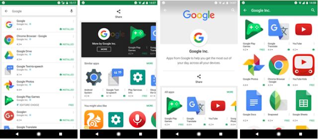 Latest Play Store APK Update with new Visual Tweaks &  Adjustable Search Option