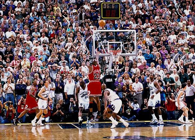 Los aficionados de los Utah Jazz se dirigían al Delta Center de Salt Lake  City el 14 de junio de 1998 buscando apoyar a su equipo para hacer historia. ec3772f95d431