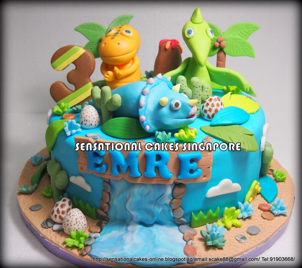 The Sensational Cakes Dinosaur Train Cake Singapore New