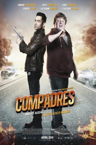 Compadres [2016] [DVDR] [NTSC] [Latino]
