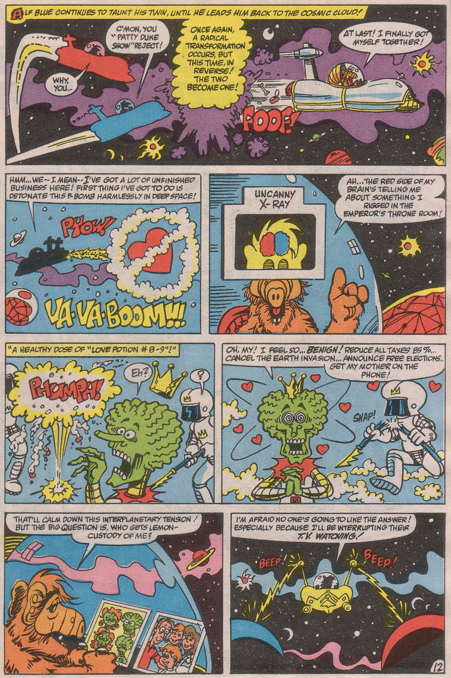 Read online ALF comic -  Issue #36 - 17