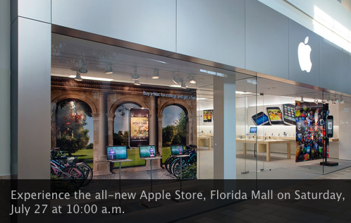 Apple Store Grand Re Opening At Florida Mall