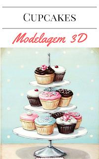 Como fazer cupcake Modelagem 3D