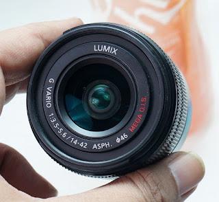 Jual Lensa Lumix 14-42 MEGA O.I.S 2nd